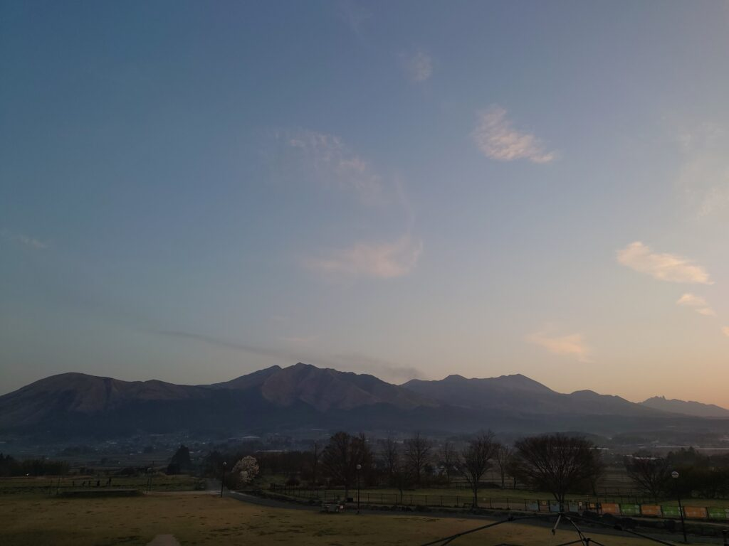 熊本県 阿蘇山 山行記